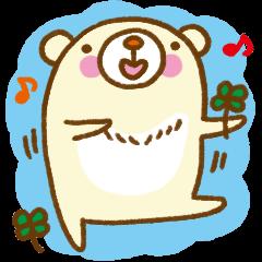 Talk with bear