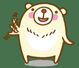 Talk with bear sticker #2229424