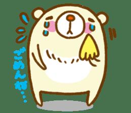 Talk with bear sticker #2229431