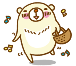 Talk with bear sticker #2229434