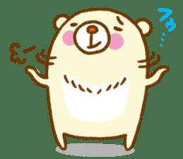 Talk with bear sticker #2229436