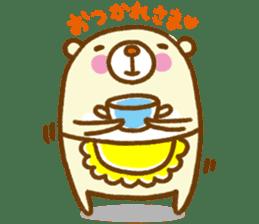 Talk with bear sticker #2229438