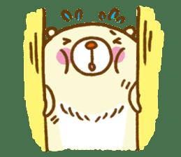 Talk with bear sticker #2229439