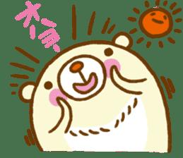 Talk with bear sticker #2229442