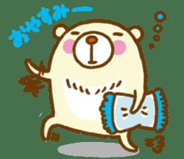 Talk with bear sticker #2229443