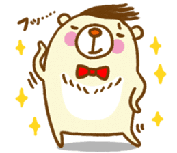 Talk with bear sticker #2229446