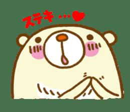 Talk with bear sticker #2229448