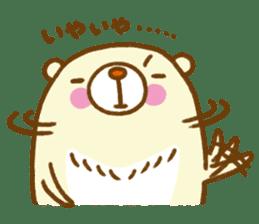 Talk with bear sticker #2229450