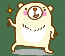 Talk with bear sticker #2229455
