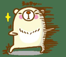 Talk with bear sticker #2229456
