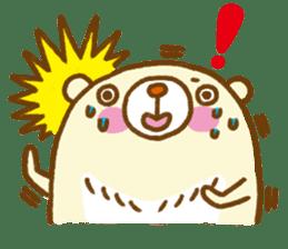 Talk with bear sticker #2229457
