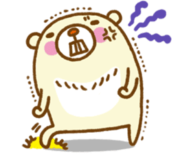 Talk with bear sticker #2229458