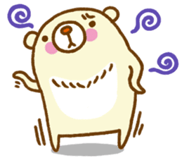 Talk with bear sticker #2229459