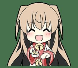 Sisaka-chan II sticker #2230150