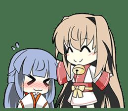 Sisaka-chan II sticker #2230153