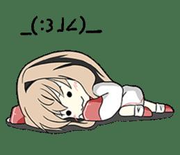 Sisaka-chan II sticker #2230156
