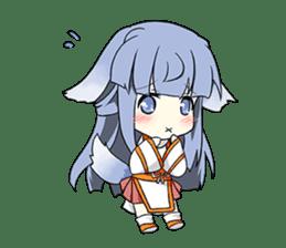 Sisaka-chan II sticker #2230165