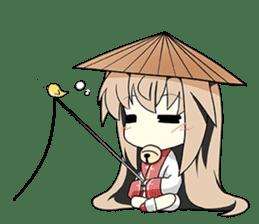 Sisaka-chan II sticker #2230167