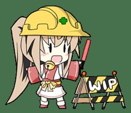 Sisaka-chan II sticker #2230173