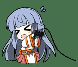 Sisaka-chan II sticker #2230176