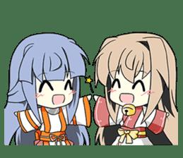 Sisaka-chan II sticker #2230177