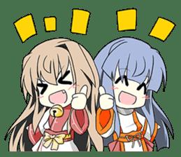 Sisaka-chan II sticker #2230179