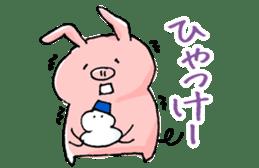 Piggy <Fukushima valve> sticker #2235137