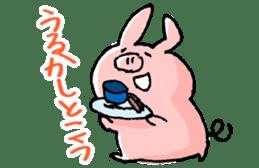 Piggy <Fukushima valve> sticker #2235140
