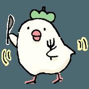 สติ๊กเกอร์ไลน์ PRETTY BIRDS STICKER2