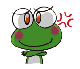 This frog speaks Koshu dialect! sticker #2256725