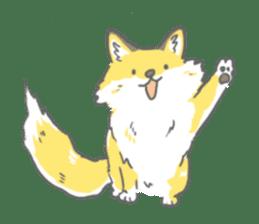 Oage fox sticker #2257696