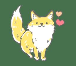 Oage fox sticker #2257698