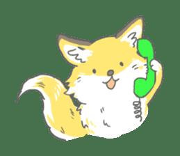 Oage fox sticker #2257699