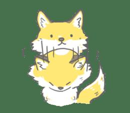 Oage fox sticker #2257700