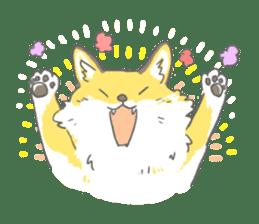 Oage fox sticker #2257701