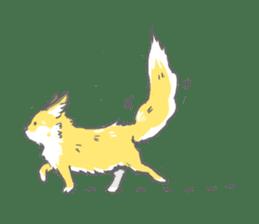 Oage fox sticker #2257702
