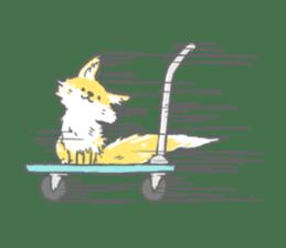Oage fox sticker #2257703