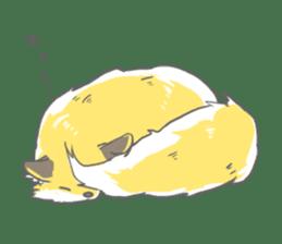 Oage fox sticker #2257705