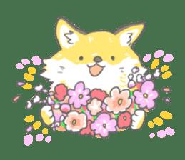 Oage fox sticker #2257706