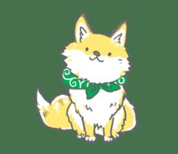 Oage fox sticker #2257707