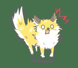 Oage fox sticker #2257708