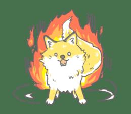 Oage fox sticker #2257709