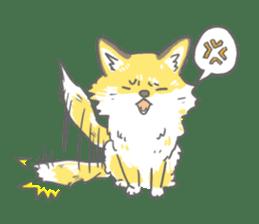 Oage fox sticker #2257710