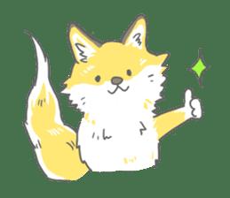 Oage fox sticker #2257711