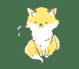 Oage fox sticker #2257712