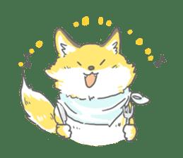 Oage fox sticker #2257714