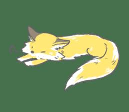 Oage fox sticker #2257717