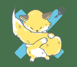 Oage fox sticker #2257719