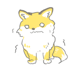 Oage fox sticker #2257721