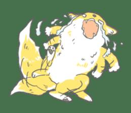 Oage fox sticker #2257722